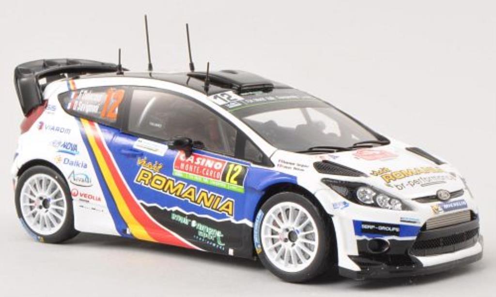 Ford Fiesta 1/43 Spark  WRC No.12 Visit Romania Rally Monte Carlo 2014 /D.Savignoni miniature
