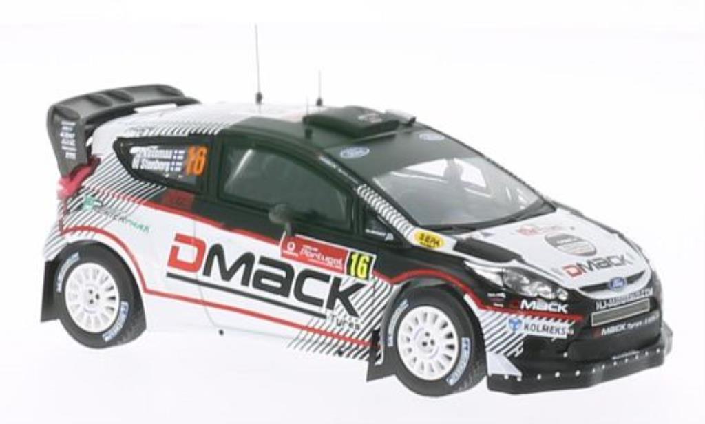 Ford Fiesta 1/43 IXO  WRC No.16 D Mack Rally Portugal 2012 /M.Stenberg miniature