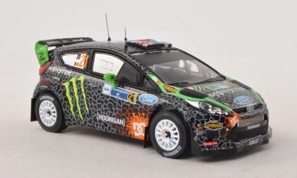 Ford Fiesta 1/43 IXO WRC No.21 Rally Mexiko 2012 /S.Prevot miniature