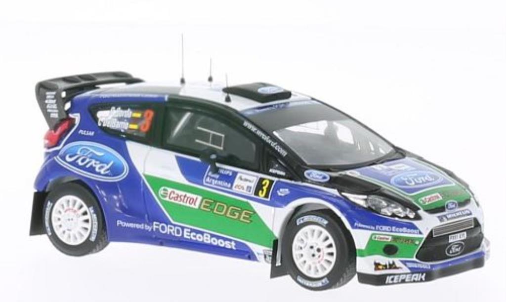 Ford Fiesta 1/43 IXO WRC No.3 Castrol Rally Argentinien 2012 /C.D miniature