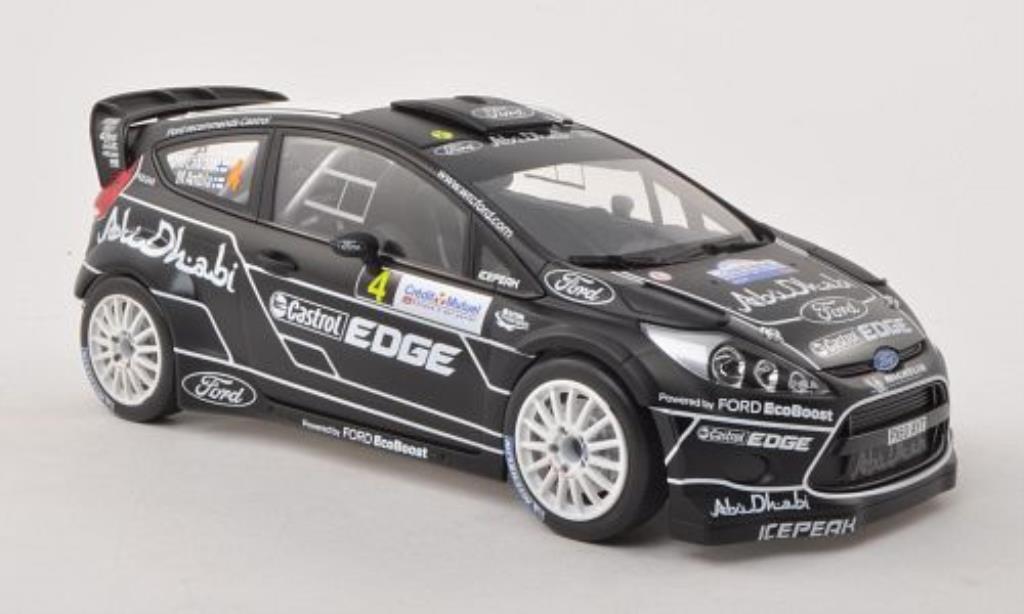 Ford Fiesta 1/18 Minichamps  WRC No.4 Ford Abu Dhabi Rally Frankreich 2011 miniature