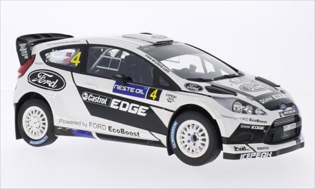 Ford Fiesta 1/18 Minichamps WRC No.4 World Rally Team Castrol Rallye WM Rally Finnland 2012 /C.Patterson miniature