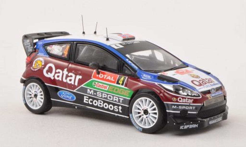 Ford Fiesta 1/43 IXO  WRC No.4 M-Sport Rally Monte Carlo 2013 /J.Andersson miniature