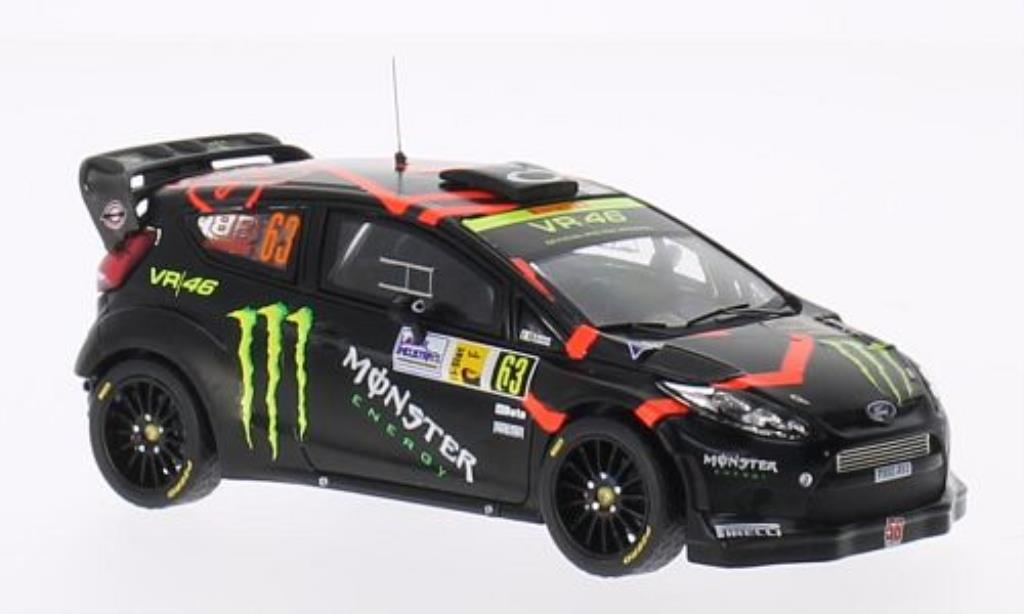 Ford Fiesta 1/43 IXO WRC No.63 Monster Rally Monza 2011 /D.Brivio miniature