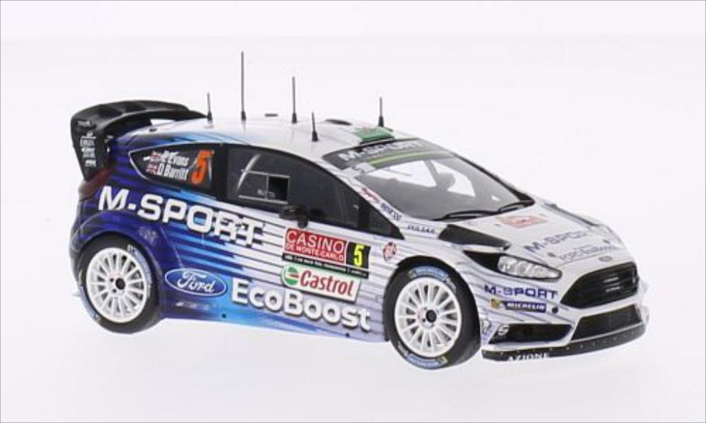 Ford Fiesta WRC 1/43 Spark No.5 M-Sport World Rally Team Rally Monte Carlo 2015 /D.Barritt miniature