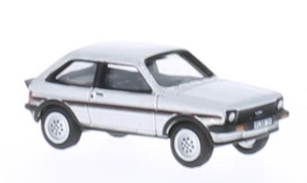 Ford Fiesta XR2 1/87 Bub grise 1981 miniature