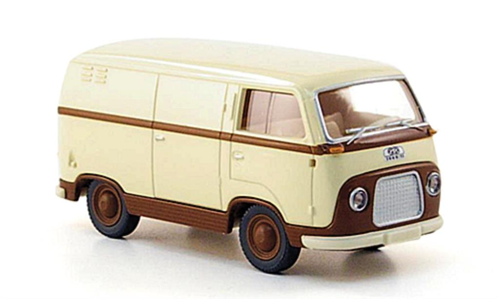 Ford FK 1000 1/87 Wiking 1000 Kastenwagen beige/marron miniature