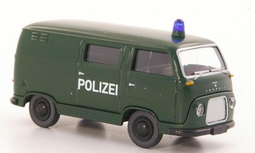 Ford FK 1000 1/87 Wiking Kastenwagen Polizei diecast