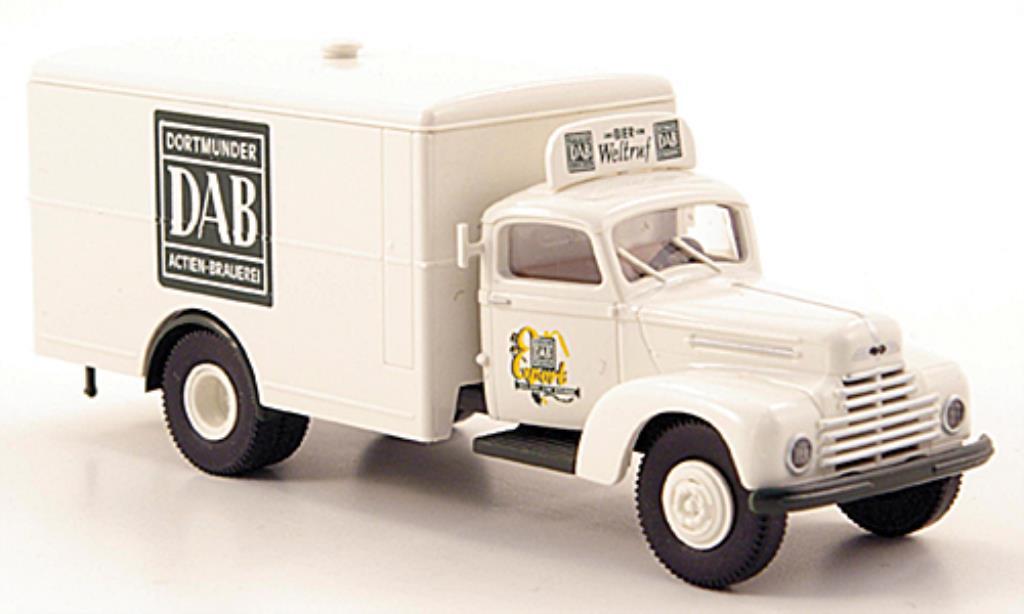 Ford FK 3500 1/87 Brekina 3500 Dortmunder Actien Bier Koffer-LKW miniature