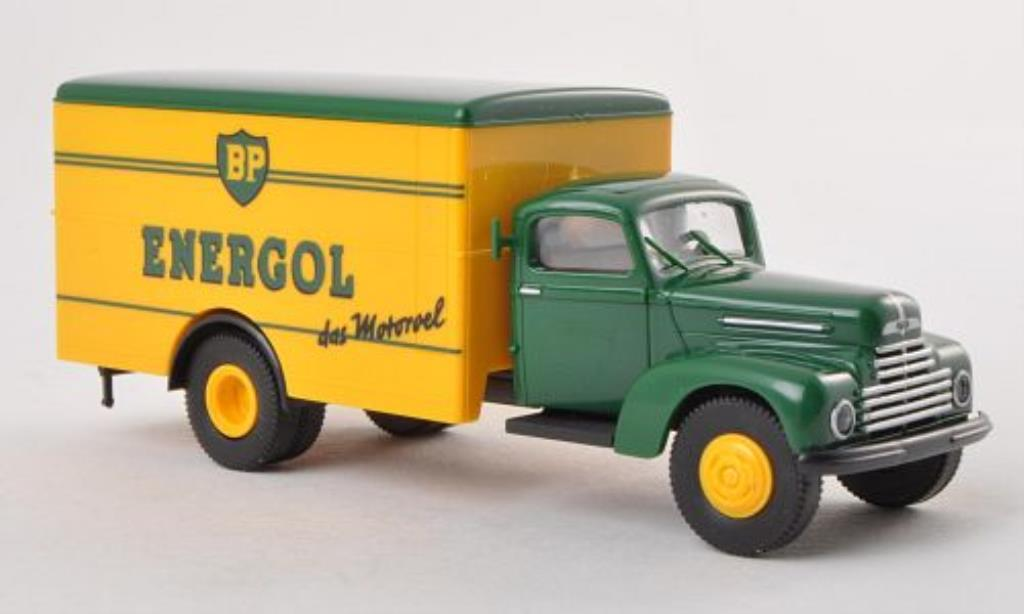 Ford FK 3500 1/87 Brekina Koffer BP Energol miniature