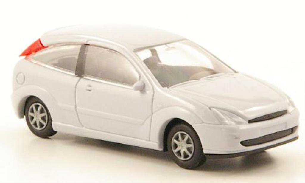 Ford Focus 1/87 Rietze (C170) grise 3-Turer 2001 miniature