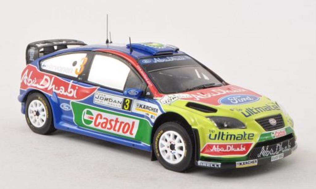 Ford Focus RS 1/43 IXO 07 WRC No.3 Rally Jordanien 2008 /J.Lehtinen miniature