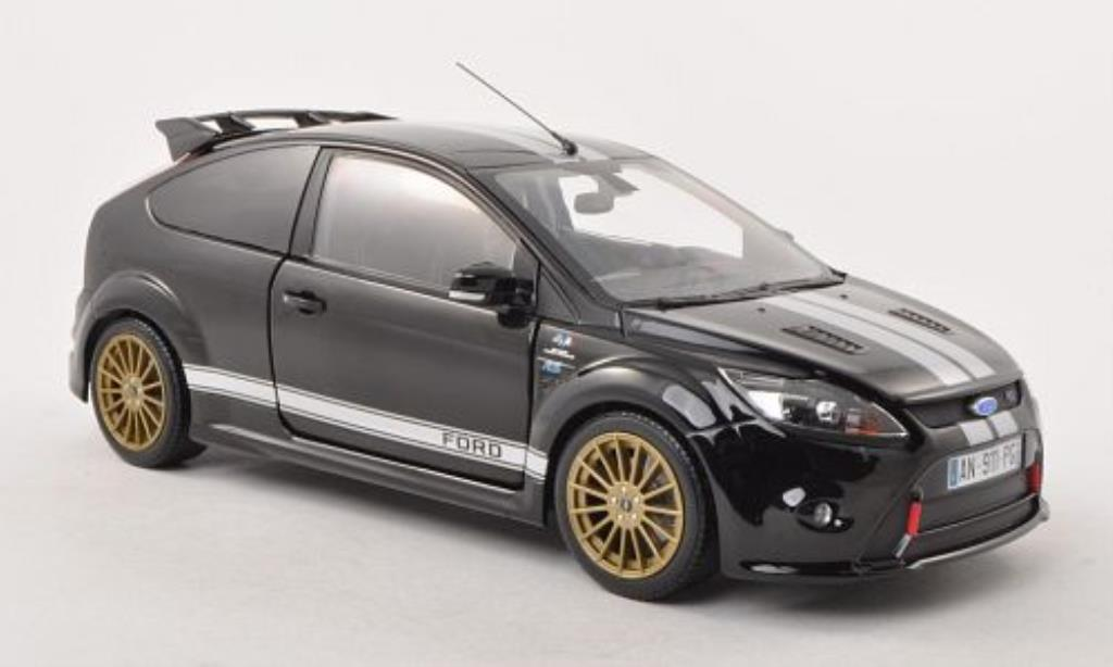 Ford Focus RS 1/18 Minichamps Le Mans Classic Edition black/grey 2010 diecast model cars