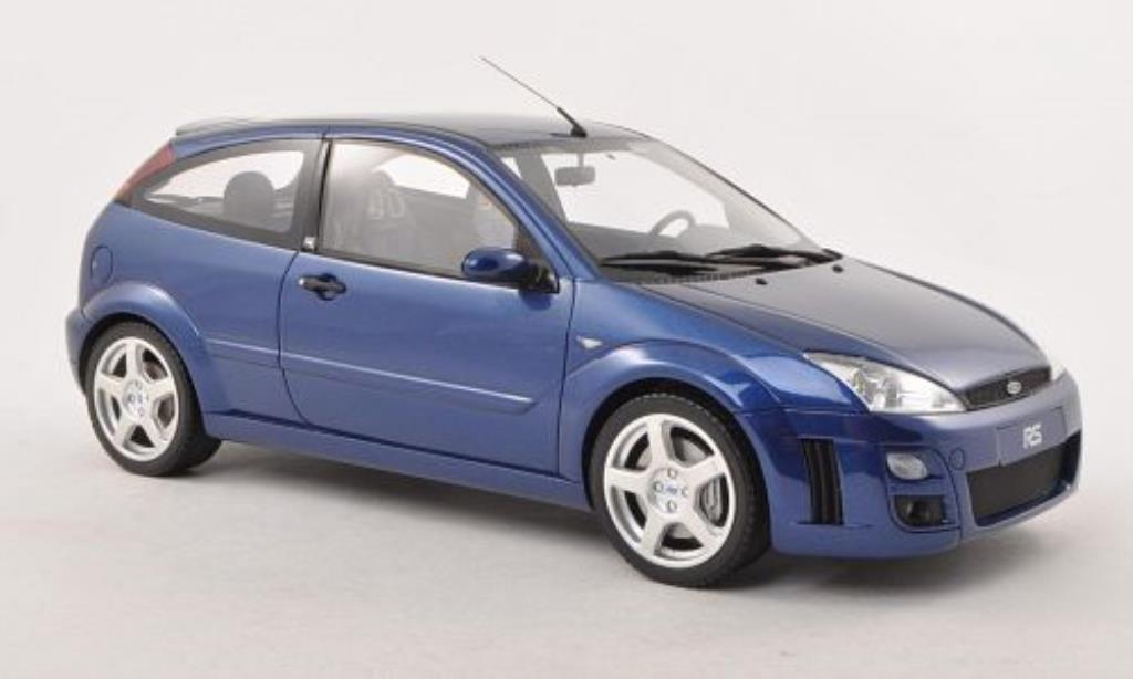 Ford Focus RS 1/18 Ottomobile MKI bleu 2002 miniature