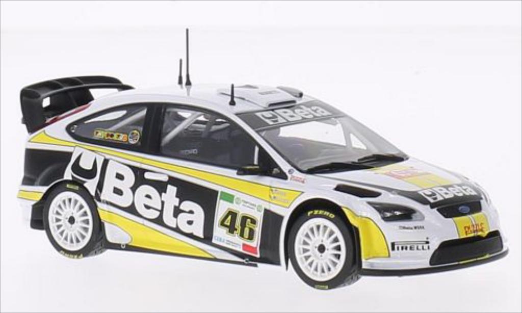Ford Focus RS 1/43 Minichamps WRC No.46 M-Sport Beta WRC Rallye Monza 2008 /C.Cassina diecast