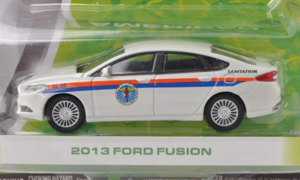 Ford Fusion 1/64 Greenlight N.Y. Department of Sanitation 2013 miniature