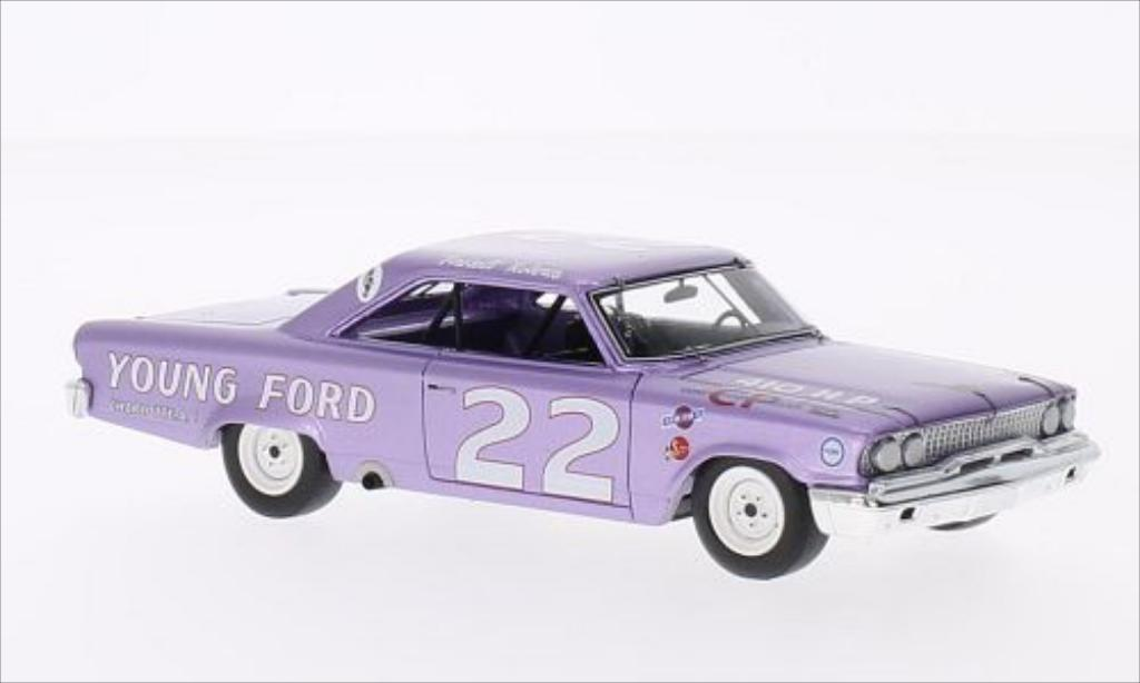 Ford Galaxy 1/43 Spark No.22 Darlington 1963 diecast model cars
