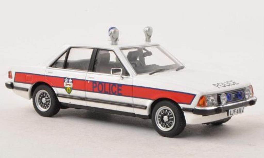 Ford Granada 1/43 Vanguards MkII 2.8i GL Leicestershire Police miniature