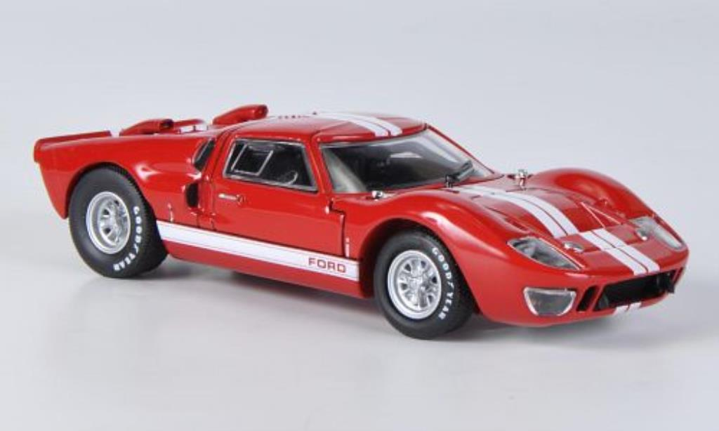 Ford GT 40 1/43 Solido MK ll rouge 1966 miniature