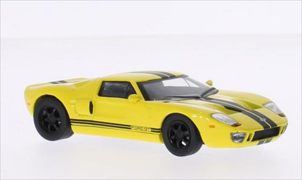 Ford GT 1/43 Solido yellow/black diecast model cars