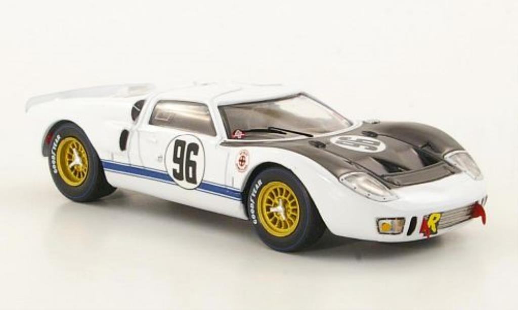 Ford GT 1/43 IXO MkII No.96 24h Daytona 1966 /C.Amon miniatura