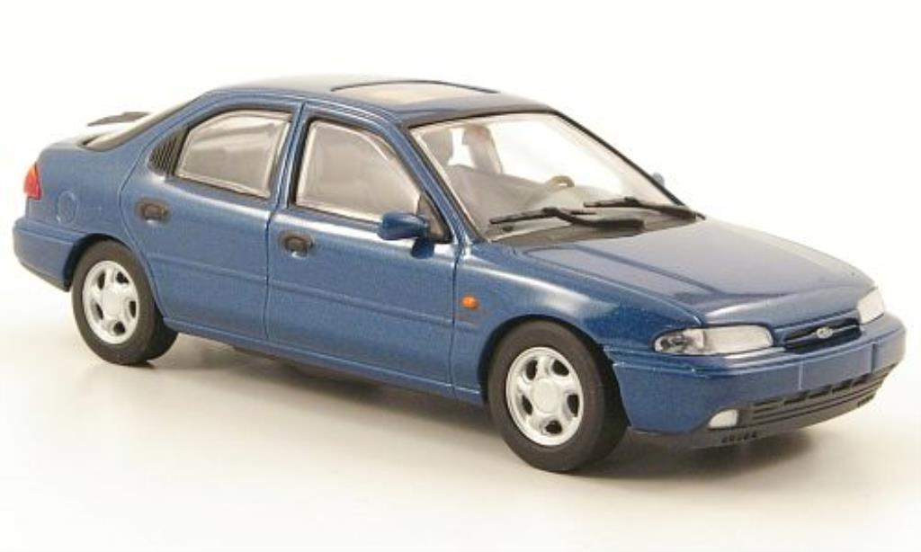 Ford Mondeo 1/43 Minichamps MKI bleu Fliessheck miniature