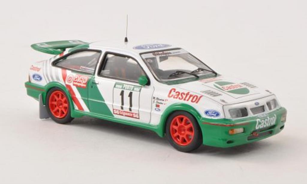 Ford Sierra Cosworth 1/43 Trofeu No.11 Diabolique Motorsport Rally Portugal 1989 /M.Oliveira miniature