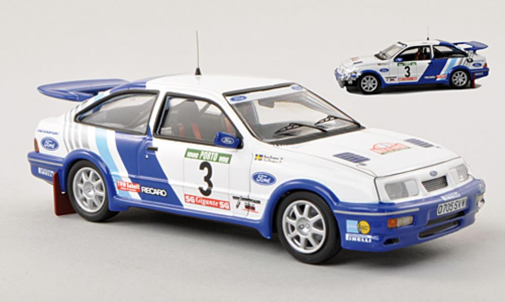 Ford Sierra 1/43 Trofeu Cosworth No.3 Unfallfahrzeug Rally Portugal 1988 /B.Melander miniature