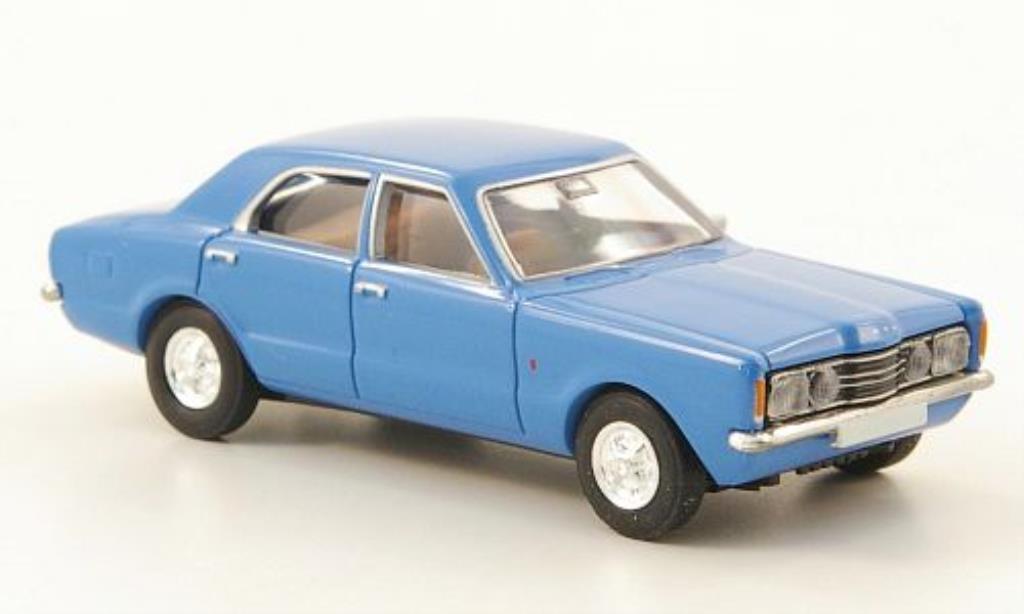 Ford Taunus 1/87 Brekina GT bleu miniature