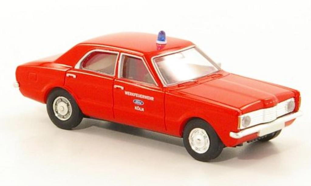 Ford Taunus 1/87 Brekina L Werkfeuerwehr - Koln miniature
