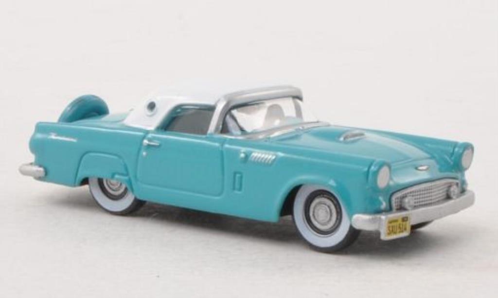 Ford Thunderbird 1/87 Oxford bleu/blanche 1956 miniature