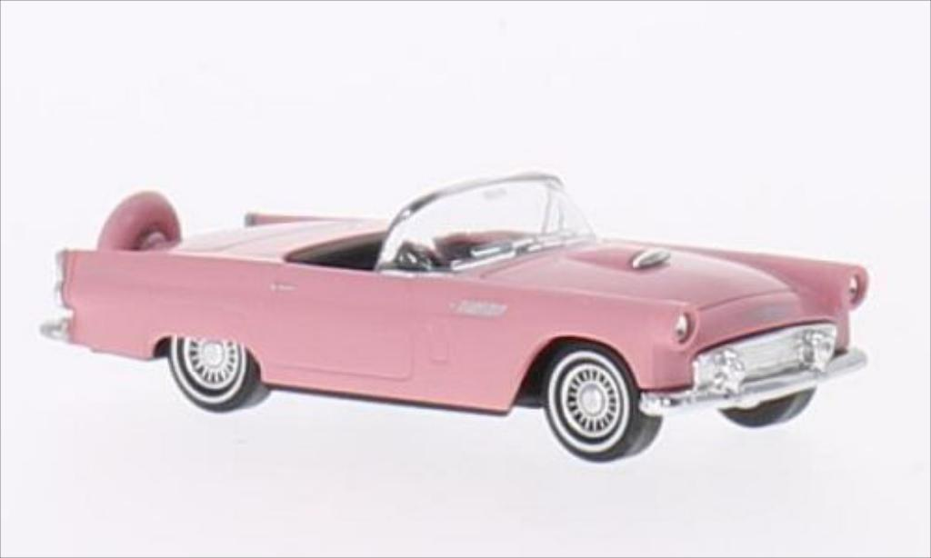 Ford Thunderbird 1/87 Busch Convertible pink 1956 diecast model cars