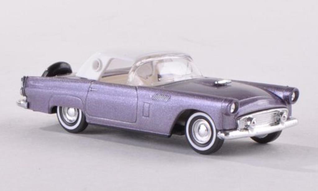 Ford Thunderbird 1/87 Busch Hardtop grey-lila 1956 diecast model cars
