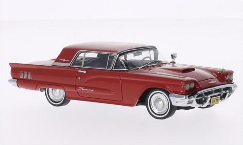 Ford Thunderbird 1/43 Neo Hardtop rouge 1960