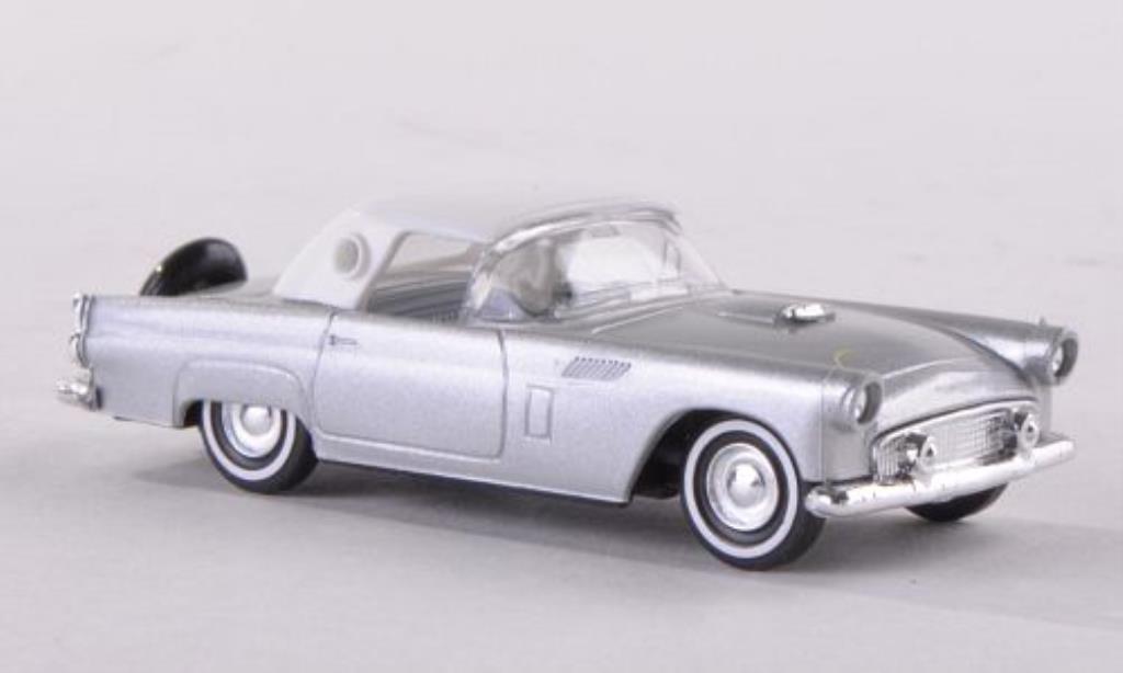 Ford Thunderbird 1/87 Busch Hardtop grise/blanche 1956