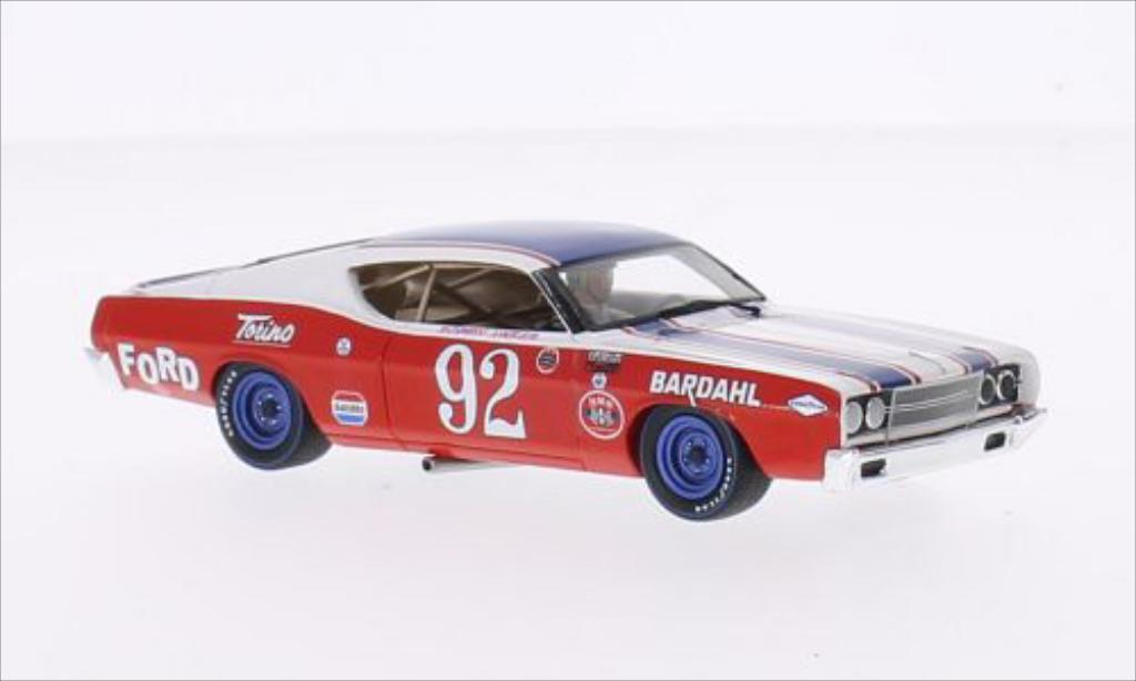 Ford Torino 1/43 Spark No.92 Pikes Peak 1969 miniature