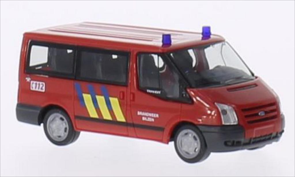 Ford Transit 1/87 Rietze 06 Bus Brandweer Bilzen (B) 2006 miniature