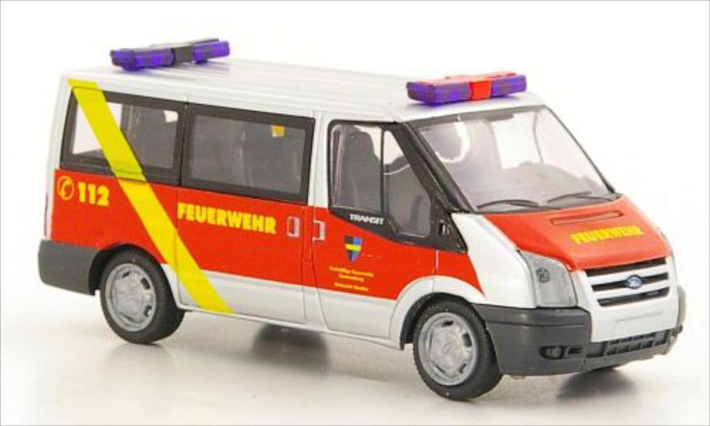 Ford Transit 1/87 Rietze Bus Feuerwehr Ronnenberg 2006 diecast