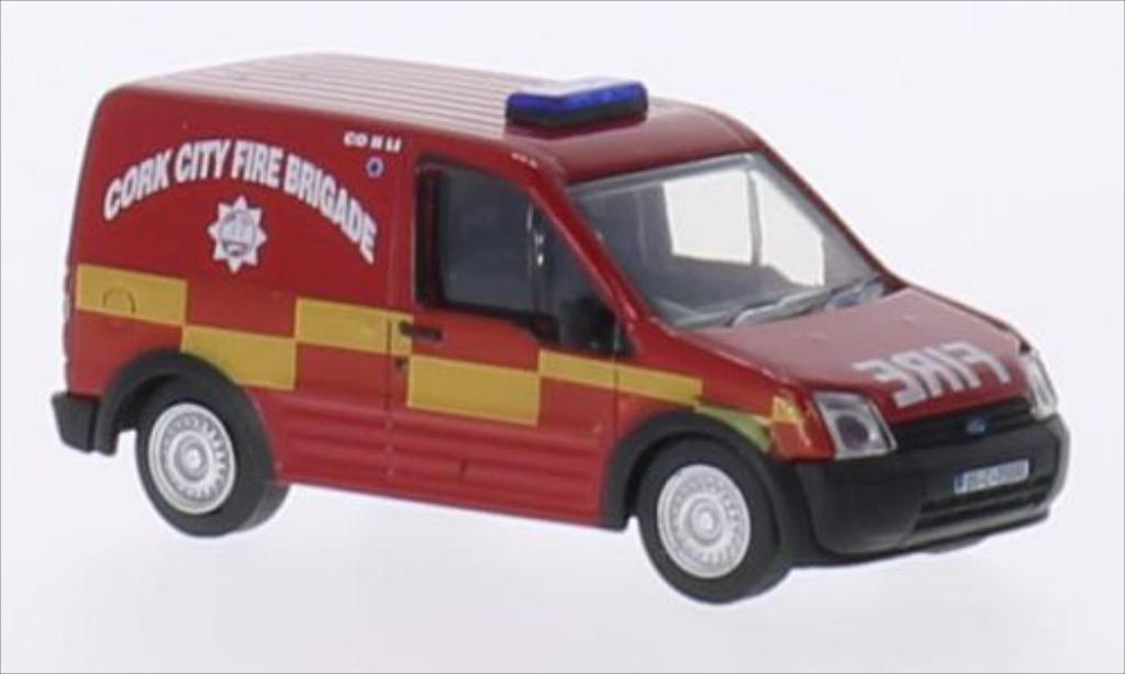 Ford Transit 1/76 Oxford Connect RHD Cork City Fire Brigade