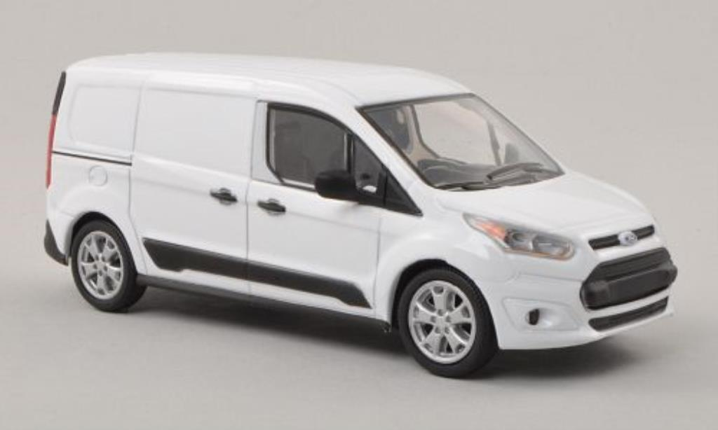 Ford Transit 1/43 Greenlight Connect blanche 2014 miniature