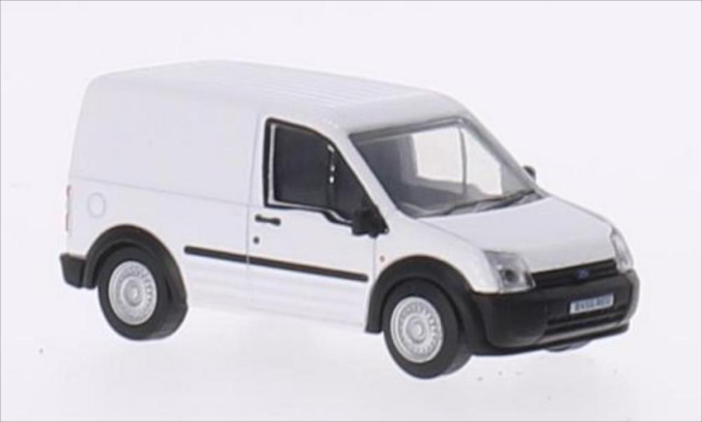 Ford Transit 1/76 Oxford Connect blanche RHD miniature