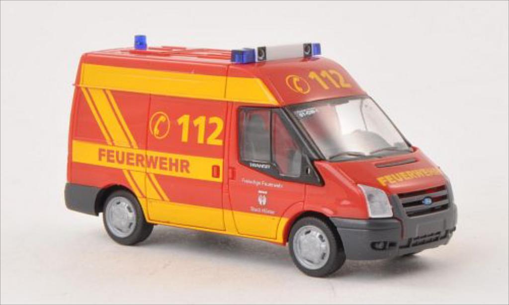 Ford Transit 1/87 Rietze Feuerwehr Hoxter 2006 miniature