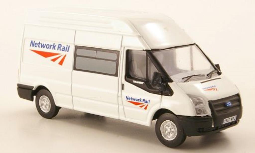 Ford Transit 1/76 Oxford Hochdachkasten Network Rail 2010 miniature