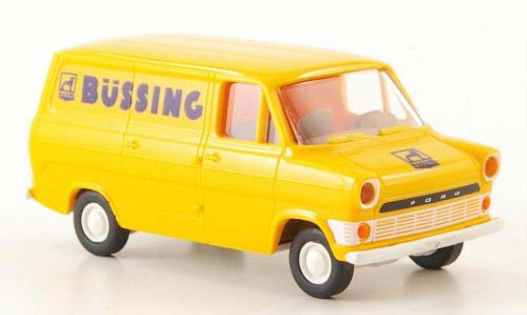 Ford Transit 1/87 Brekina IIa Kasten Bussing miniature