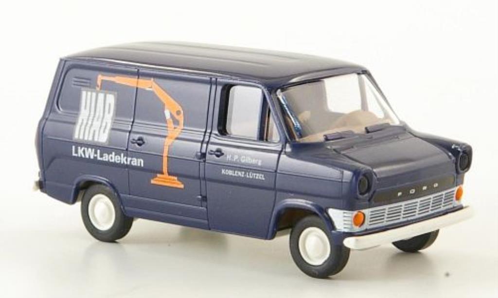 Ford Transit 1/87 Brekina IIa Kasten Hiab miniature