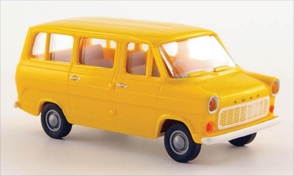 Ford Transit 1/87 Brekina IIb yellow 1970 diecast