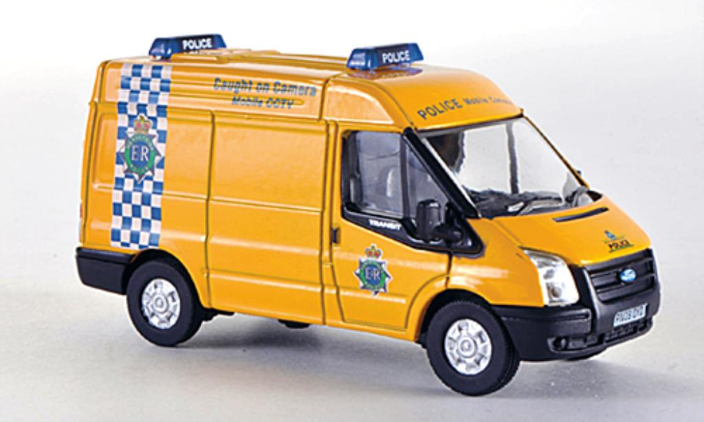 Ford Transit 1/76 Oxford Kasten Merseyside Police - Mobile CCTV Polizei (UK) 2010 miniature