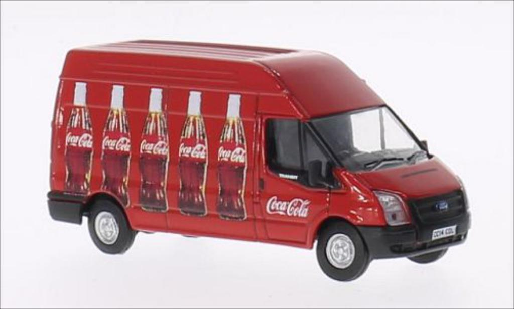 Ford Transit 1/76 Oxford Kasten RHD Coca-Cola miniature