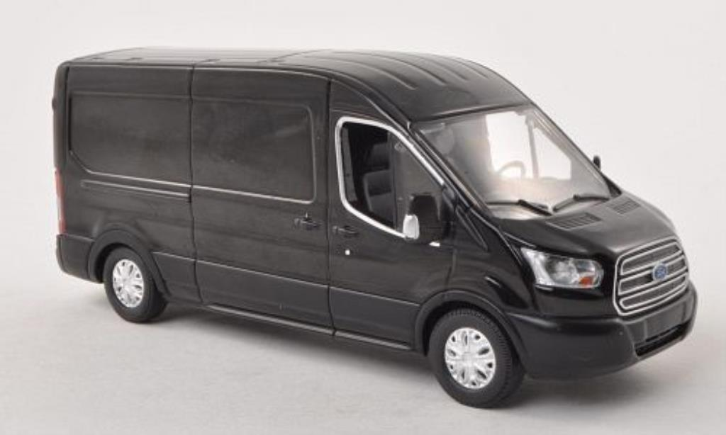 Ford Transit 1/43 Greenlight Kasten (V363) noire 2015 miniature
