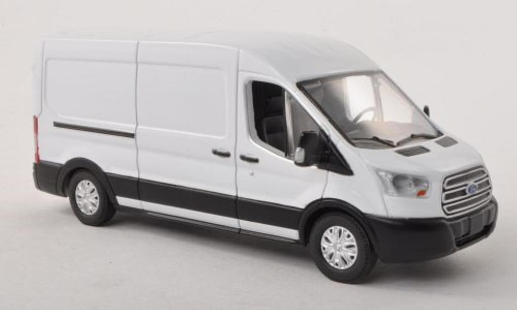 Ford Transit 1/43 Greenlight Kasten (V363) blanche 2015 miniature